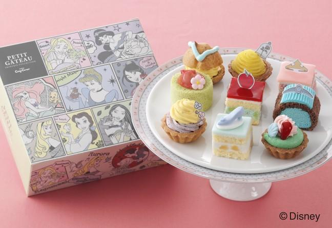 銀座コージーコーナーにひなまつり限定ケーキ登場!主役はディズニーの可愛いくて綺麗なプリンセスたち♡