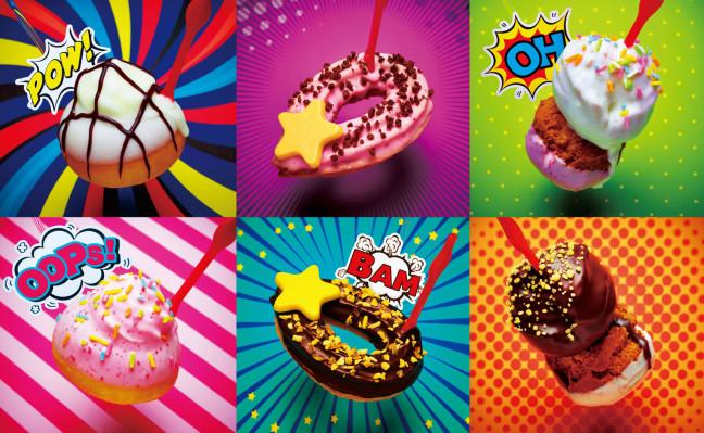 ミスタードーナツに遊び心溢れるカラフルなドーナツが登場☆ピックで食べる「キュートポップ」はパーティにもピッタリ♪