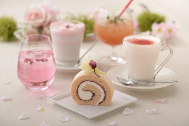 まだまだ開催中!期間限定の桜フェア!春を楽しめる、目にも鮮やかなケーキ&ドリンク♡