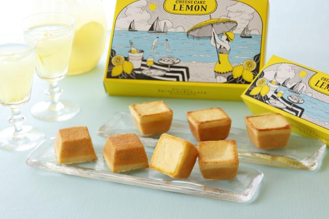 """資生堂パーラーが季節限定の""""レモン""""チーズケーキを発売!濃厚なチーズとさわやかなレモンのハーモニーをご堪能あれ!!"""