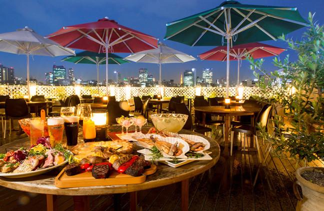 夜景を眺めながらラグジュアリーに乾杯♡エクストラコールドビアテラス&グリル ベニーレガーデンが6月1日にオープン!!