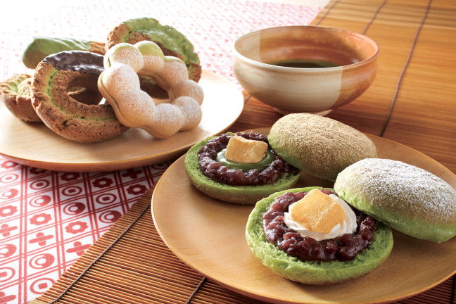 ミスタードーナッツに『和ドーナツ』登場♪春から初夏にかけて和の味に癒されちゃいましょう♡