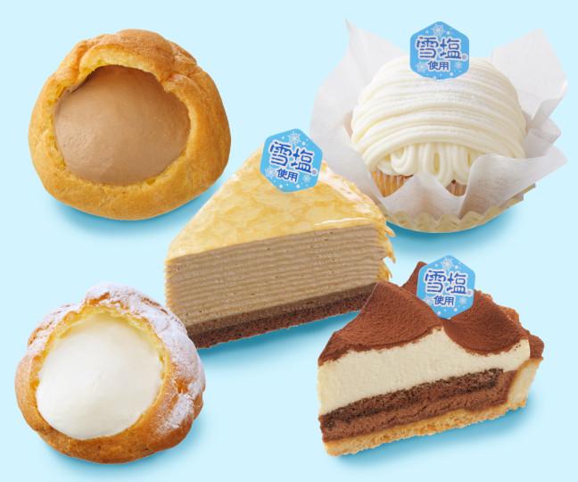 夏のスイーツは宮古島産「雪塩」を使ってすっきり美味しく♪5月20日よりコージーコーナーで塩スイーツが登場♡