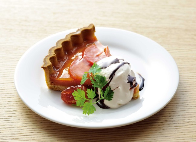 """五感で楽しむ日本食♡""""自遊庵""""新テーマは、リコピンたっぷりの「トマト」とキュッと酸っぱい「梅」"""