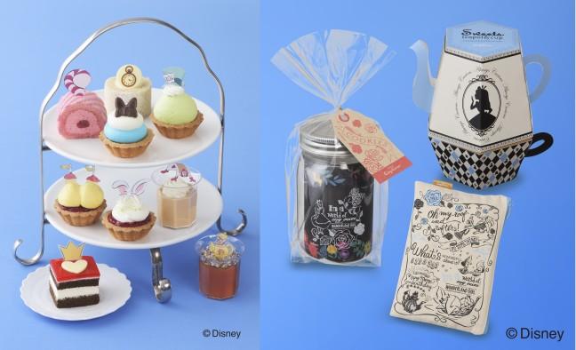 アリスのティーパーティ気分を味わえるかも♡コージーコーナーの「ふしぎの国のアリス」プチケーキセットで楽しいパーティ開いちゃおう♪