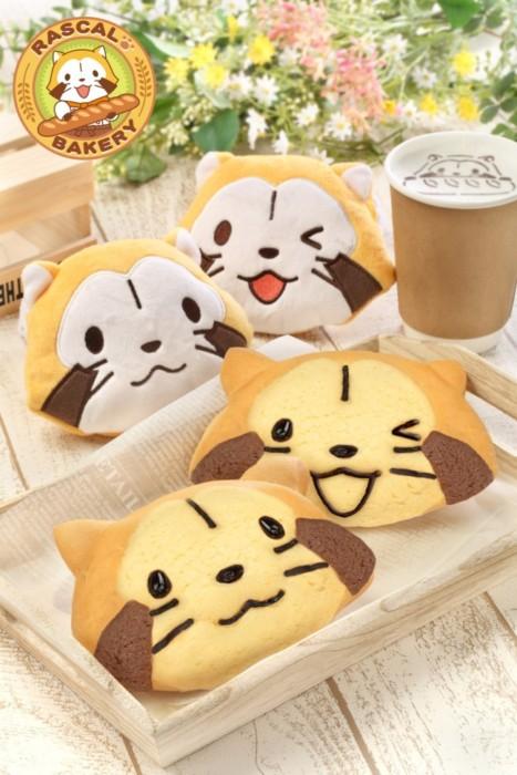 大阪「EXPOCITY」にあるベーカリーカフェがリニューアル!「あらいぐまラスカル」の可愛いメニューがたくさん登場しちゃいます♪