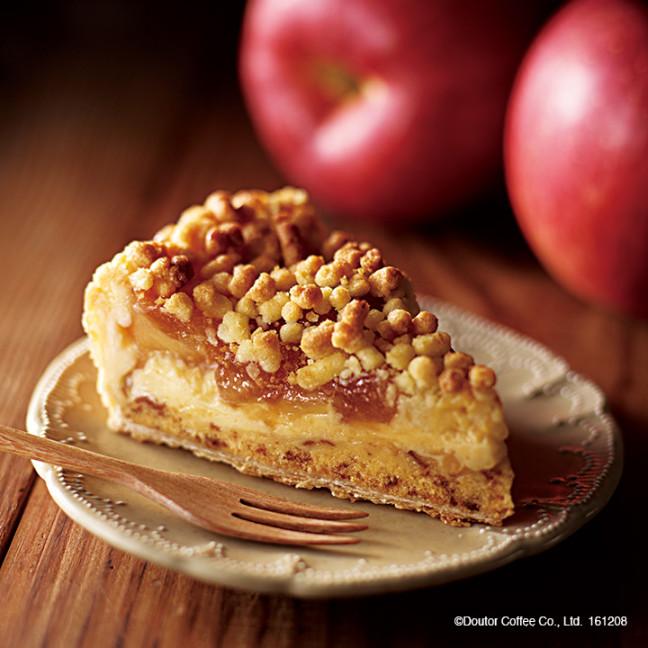 エクセルシオール カフェに冬のカフェタイムに嬉しいメニュー登場です♪アップルパイにフォンダンショコラ♡モーニングにはフレンチトーストを召し上がれ!