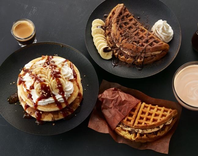 アメリカンワッフルプレート T's パンケーキ