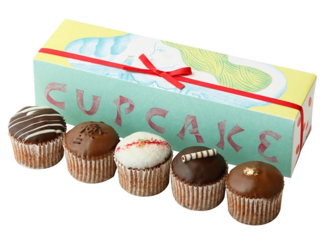 バレンタインにはもちろん、手土産などの贈り物にもオススメしたいフェアリーケーキフェアのカップケーキ♪2月はショコラ系カップケーキが美味しい♡