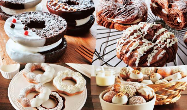 ショコラの美味しさ楽しめる♪ミスタードーナツ『ショコラカーニバル』第2弾!ホワイトチョコレートなどでデコレーションされたホワイトデーにもぴったりのドーナツが大集合☆