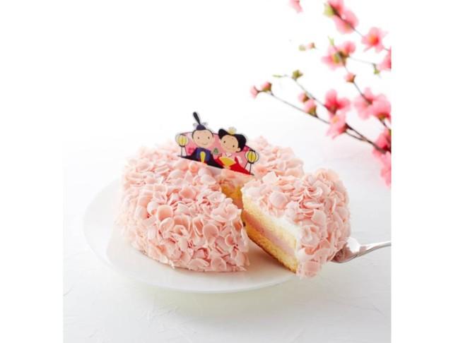 まるでピンクの花びらに包まれたような華やかケーキ♡大人の女性のひなまつりは、モロゾフの「ひなまつり 春てまり」ほか、上品スイーツで楽しもう♪