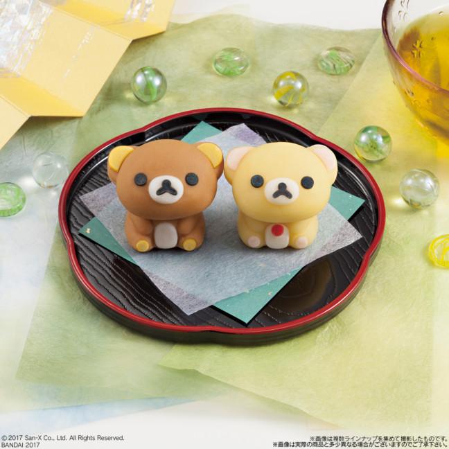 リラックマ&コリラックマをそのまま和菓子に♡ころんとした姿がキュートな『食べマス リラックマ』、4月25日よりローソンで発売!