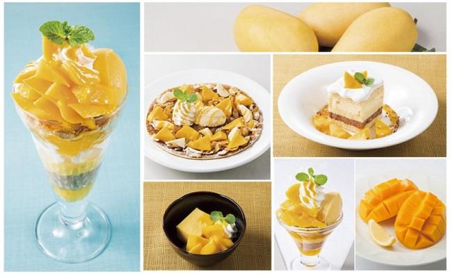 デニーズに、爽やかなこれからの季節に食べたい6種類のマンゴーデザート登場♪なめらか、濃厚、ジューシーな果実の美味しさ召し上がれ!