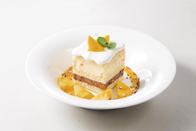 デニーズ マンゴーのショートケーキ