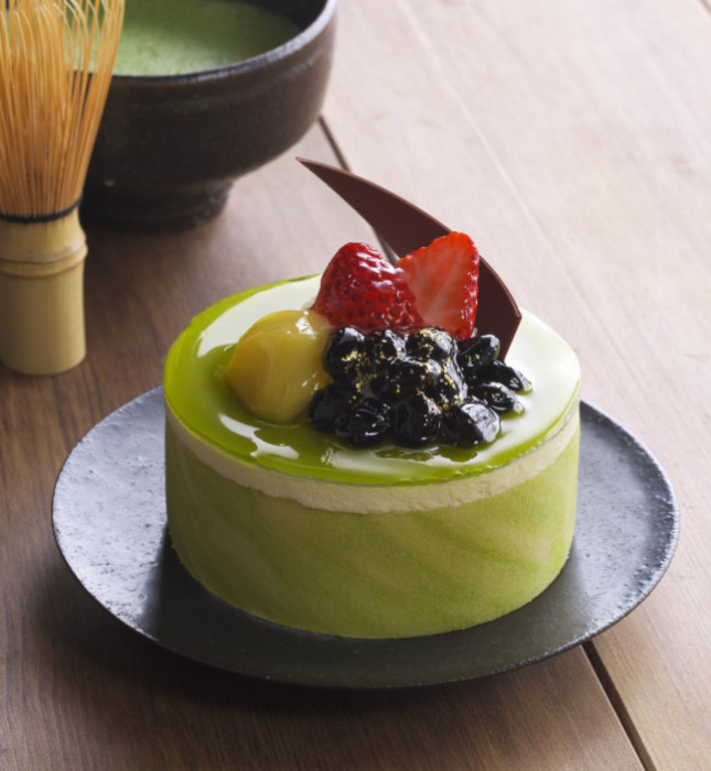 銀座コージーコーナー 抹茶と和三盆のケーキ(3.5号)