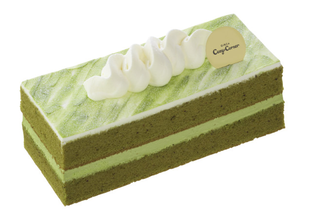 銀座コージーコーナー 深み抹茶のシフォンケーキ