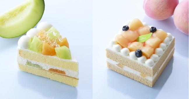 メロンと白桃を使ったフレッシュな夏フルーツを楽しめるスイーツ大集合!銀座コージーコーナーの「サマーフルーツフェア」始まる♪