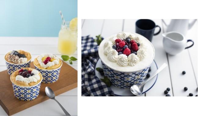 ザ・シフォン&スプーンにフルーツやゼリーなどの爽やか素材を合わせた夏限定「ザ・デコレーションシフォン」登場!パーティーシーンにオススメのシフォンケーキも可愛い♡