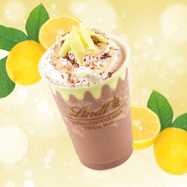 夏のリンツはレモンの香り♡ミルクチョコレートにレモンの美味しさをプラスした初夏限定ドリンクがリンツ ショコラ カフェにて発売♪
