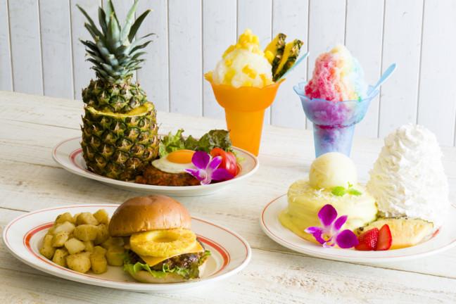 7月のEggs 'n Thingsはトロピカル☆パインを使ったパンケーキにシェイブアイス、スムージーで南国気分を楽しめちゃう♪