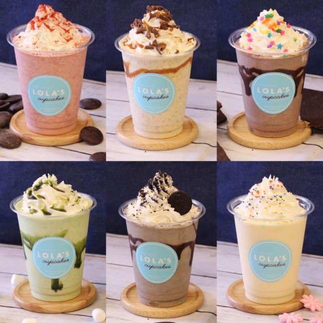 「LOLA'S Cupcakes」の可愛いカップケーキが今年の夏もひんやりシェークで楽しめる♡ハーゲンダッツとコラボしたサンデーも見逃せない!