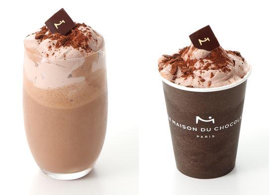 濃厚なショコラ グラッセにアイスやソルベを合わせた夏の美味しさ♡ラ・メゾン・デュ・ショコラの夏の人気者「フラッペ ショコラ」が今年も登場です!