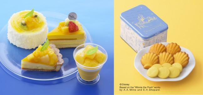 ビタミンカラーが元気をくれる、銀座コージーコーナーの夏のマンゴースイーツ☆同日発売する「くまのプーさん」の大人可愛いスイーツギフトも要チェック♡