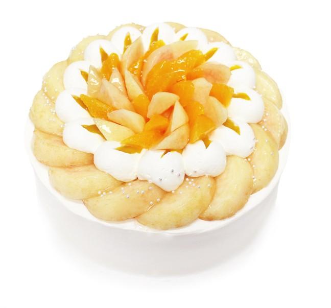 カフェコムサの「ももコレクション」♡国産の白桃と旬のフルーツを贅沢に盛り付けた、夏らしいみずみずしさが溢れるケーキ揃いました!