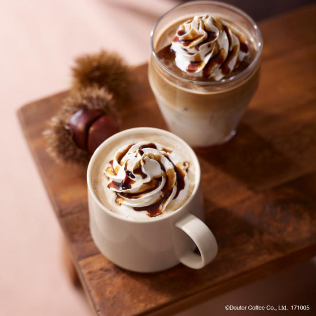 和栗の優しい甘さが楽しめる秋ドリンクがエクセルシオール カフェに登場♪新作スイーツのモンブランやロールケーキと合わせて、こっくり秋のカフェタイム♡