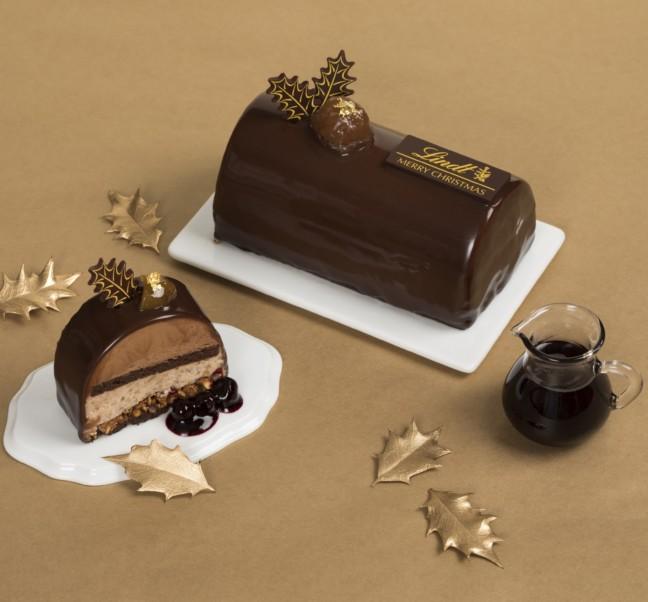 今年はリンツのチョコレートケーキで、上品な大人クリスマス♪カフェとオンラインショップで11月から予約始まる!