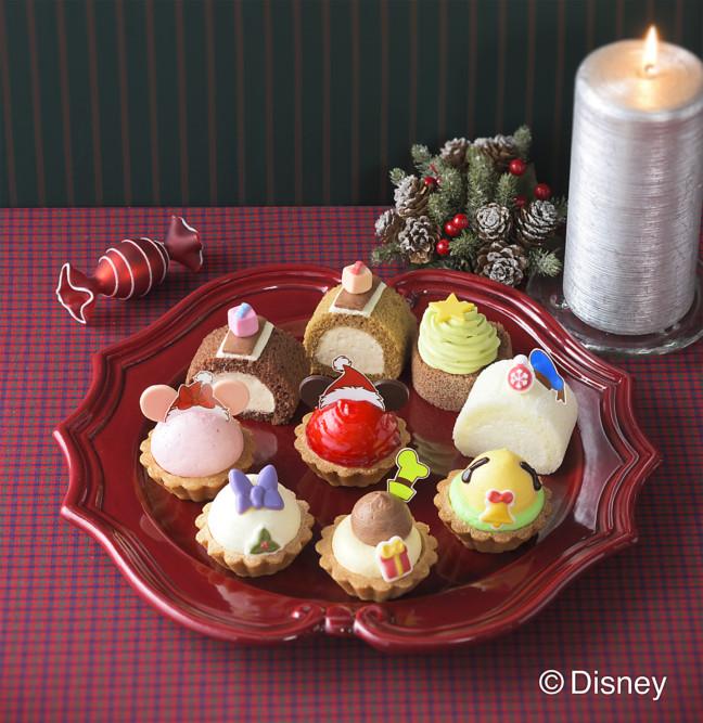 ミッキーサンタがとってもキュート♡銀座コージーコーナーのクリスマス限定プチケーキセットほか、プレゼントに絶対喜ばれる焼菓子ギフトも♪