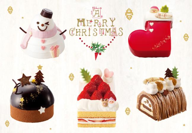 大人のクリスマスにオススメ♪贅沢で、可愛くて、ちょうどいいサイズ感♡2017年の「銀のぶどう」クリスマスケーキ!