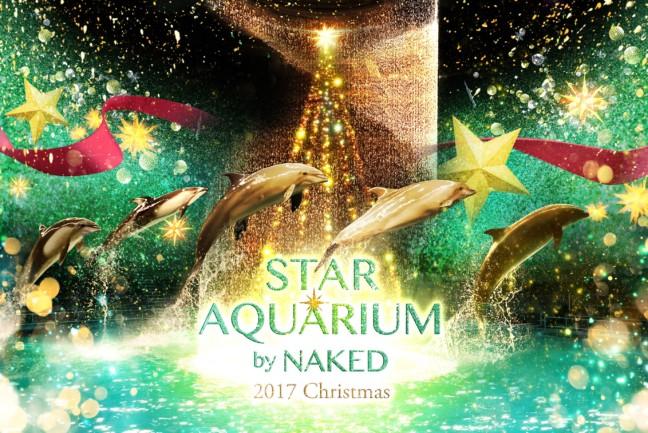 イルカと過ごすクリスマス♡華やかな光や音で彩られる、アクアパーク品川のクリスマスシーズン限定のドルフィンパフォーマンスがあなたの心にトキメキ運ぶ♪