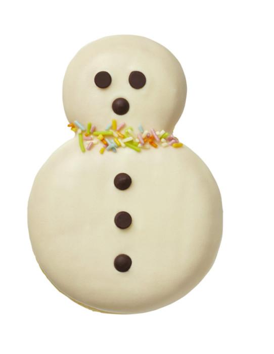 ミスタードーナツ 冬だるま ホワイト