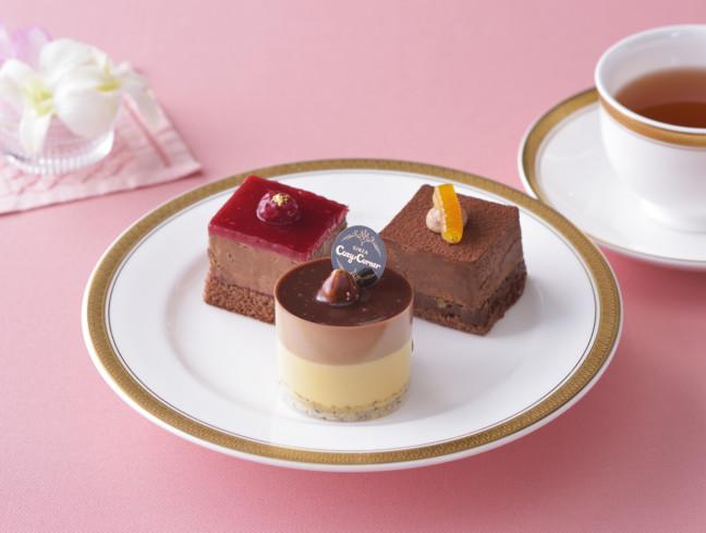 自分へのバレンタインは3種類のショコラスイーツを食べ比べ♡銀座コージーコーナーのバレンタイン限定スイーツを楽しもう♪