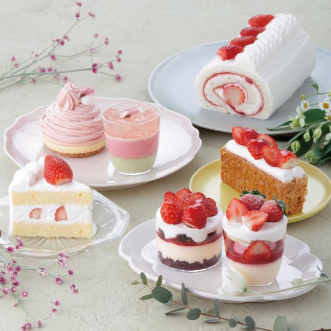 桜スイーツ&いちごスイーツから春が溢れる♡パティスリー キハチに、誰かと食べたくなる春色スイーツ登場します♪