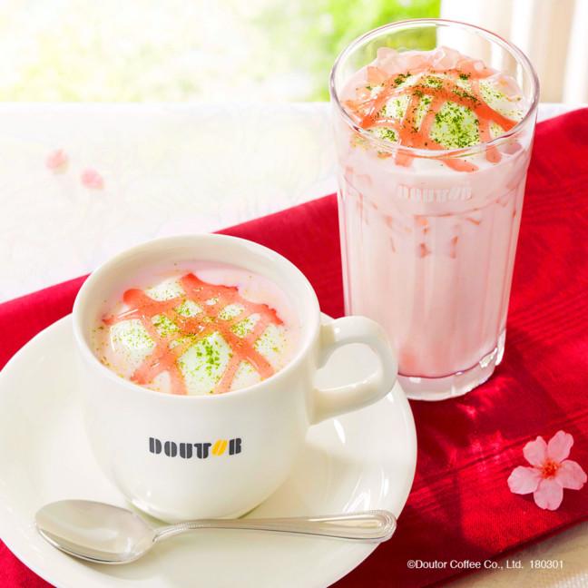 桜ドリンク&桜スイーツでくつろぐ春のカフェタイム♪ドトールの桜香る限定メニューで優しい春を感じちゃおう♡