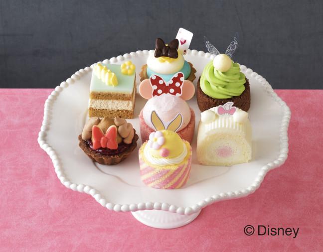 ディズニーの女の子キャラクターたちがプチケーキになって大集合♪銀座コージーコーナーに、ひなまつりなどの春を彩るスイーツ登場!