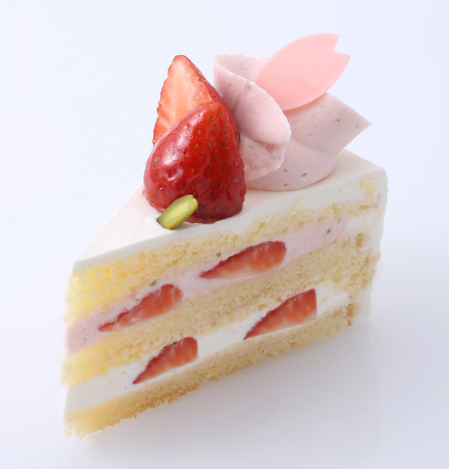 「アンテノール」 さくらのショートケーキ