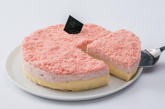 スイーツパラダイス しっとり苺チーズケーキ