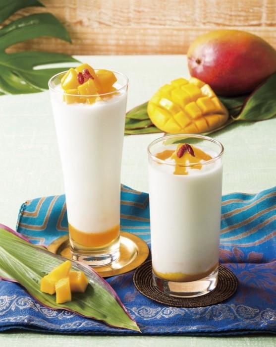 杏仁豆腐好きな人にオススメしたい、セガフレード春のドリンク☆濃厚な杏仁の味わいをひんやり飲んで楽しむ『マンゴー杏仁グラニータ』