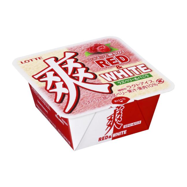 ロッテ『爽 RED&WHITE(ラズベリー&バニラ)』