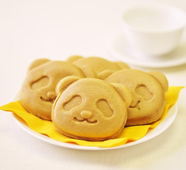 """夏に人気の「パンダ焼き」抹茶テイストがパワーアップして登場♪""""西尾抹茶""""を使ったほろにが抹茶クリームが美味しい♡"""