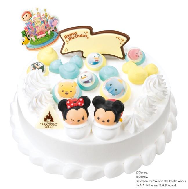 キュートなツムツムのアイスクリームケーキ登場♪夏のお祝いシーンや楽しい集まりには、サーティーワンのひんやりケーキ♡