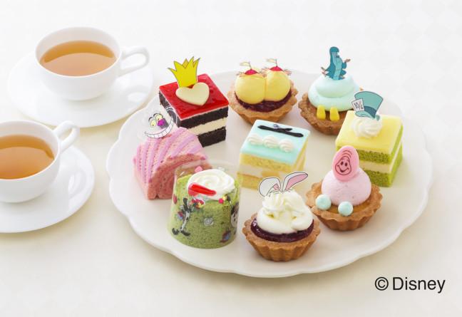不思議の国のアリスが溢れる銀座コージーコーナー♥キャラクターモチーフのプチケーキセットに可愛いスイーツギフトも揃ってる♪