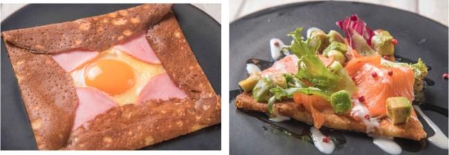 クレープ、ガレット食べ放題専門店 La fete de filles ガレット