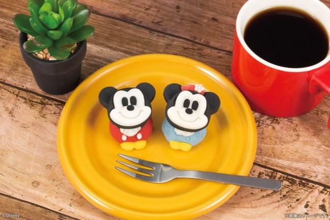☆ミッキー&ミニー☆スクリーンデビュー90周年を記念して作られた和菓子がマスコットみたいに可愛い♪