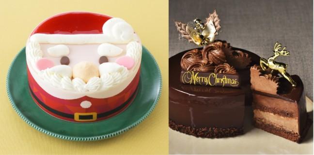 10月1日から始まるクリスマスケーキ予約☆銀座コージーコーナーなら可愛いのも大人向けのも揃って、たくさんの種類から選べちゃう♪