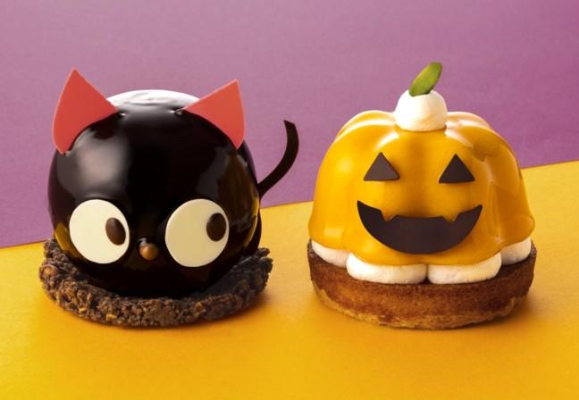 かぼちゃに黒猫★キュートなハロウィンスイーツに一目惚れ♡「銀のぶどう」期間限定スイーツに注目♪