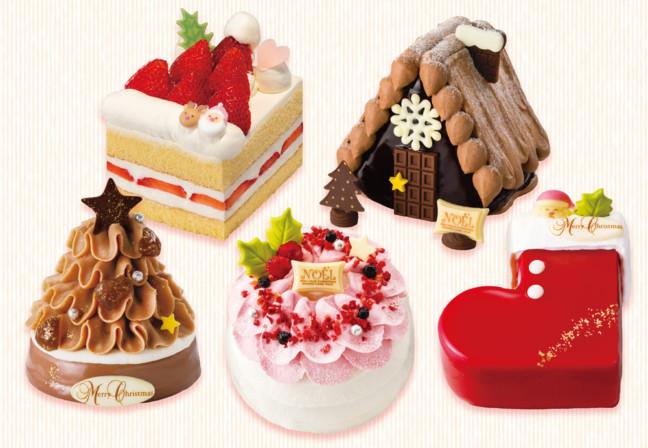 誰かと一緒に食べてください☆1人で食べるには少し大きめ?「銀のぶどう」の可愛さ満点クリスマスケーキ♪